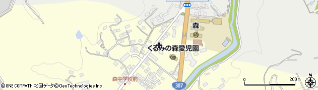 大分県玖珠郡玖珠町帆足2205周辺の地図