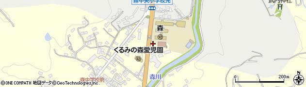 大分県玖珠郡玖珠町帆足2199周辺の地図