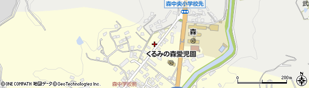 大分県玖珠郡玖珠町帆足2213周辺の地図