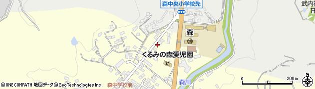 大分県玖珠郡玖珠町帆足3203周辺の地図