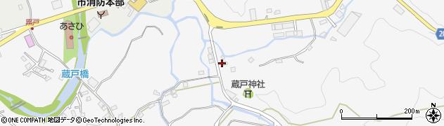 鍋島燃料店周辺の地図