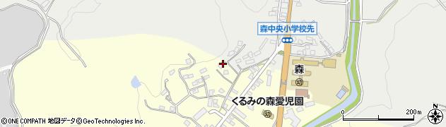 大分県玖珠郡玖珠町帆足2219周辺の地図