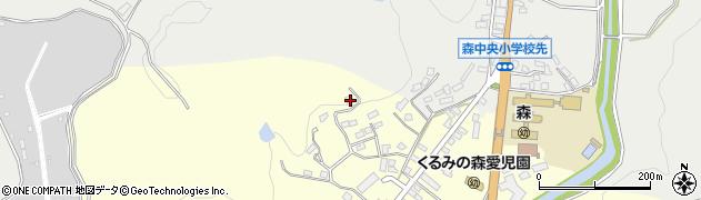 大分県玖珠郡玖珠町帆足2298周辺の地図