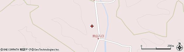 大分県玖珠郡玖珠町戸畑2361周辺の地図
