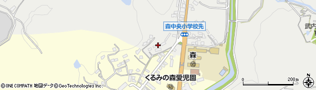大分県玖珠郡玖珠町森1140周辺の地図