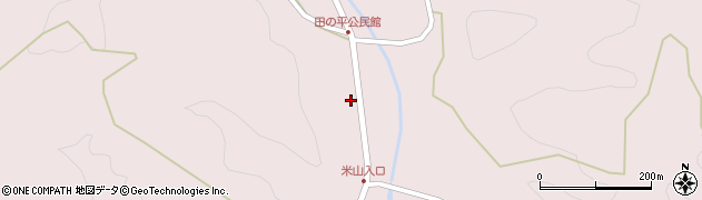 大分県玖珠郡玖珠町戸畑2352周辺の地図