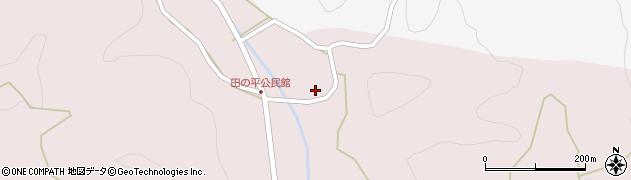 大分県玖珠郡玖珠町戸畑2443周辺の地図