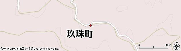 大分県玖珠郡玖珠町戸畑3602周辺の地図