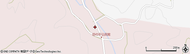大分県玖珠郡玖珠町戸畑2419周辺の地図