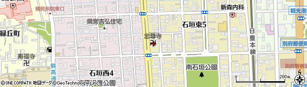 忠専寺周辺の地図