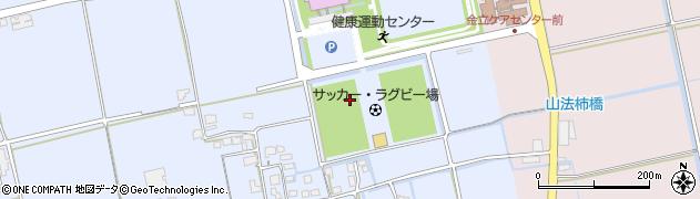 佐賀県佐賀市高木瀬町(長瀬平尾)周辺の地図