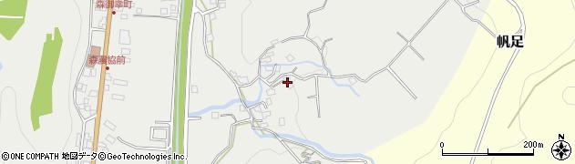 大分県玖珠郡玖珠町森156周辺の地図