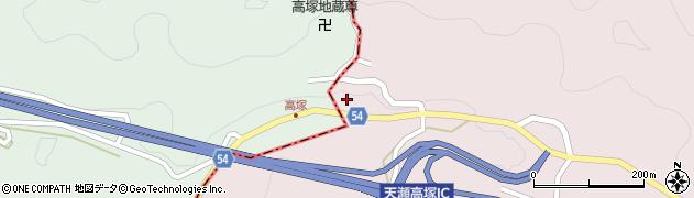 大分県玖珠郡玖珠町戸畑10209周辺の地図