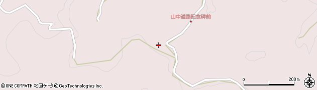 大分県玖珠郡玖珠町戸畑3622周辺の地図