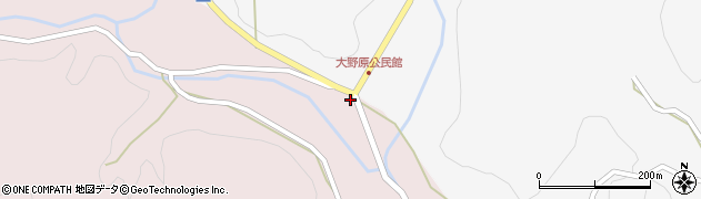 大分県玖珠郡玖珠町戸畑3328周辺の地図