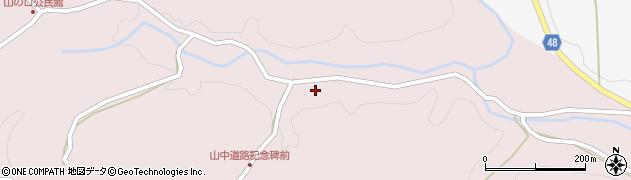 大分県玖珠郡玖珠町戸畑3478周辺の地図