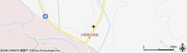 大分県玖珠郡玖珠町四日市1658周辺の地図