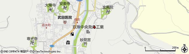 大分県玖珠郡玖珠町森622周辺の地図