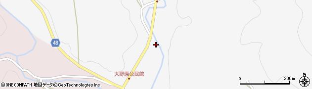 大分県玖珠郡玖珠町四日市1653周辺の地図