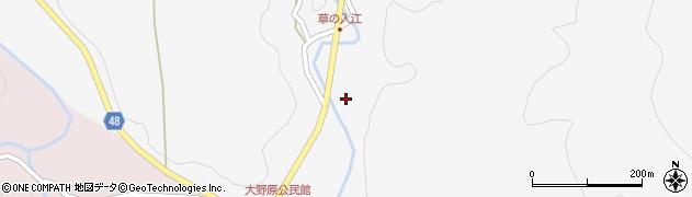大分県玖珠郡玖珠町四日市1556周辺の地図