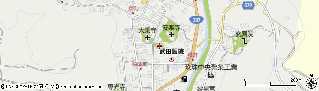 大分県玖珠郡玖珠町森941周辺の地図