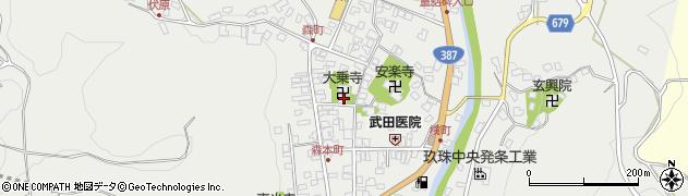 大分県玖珠郡玖珠町森757周辺の地図
