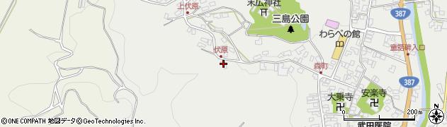 大分県玖珠郡玖珠町森1529周辺の地図