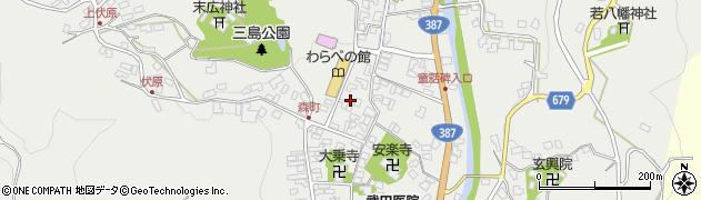 大分県玖珠郡玖珠町森殿町周辺の地図