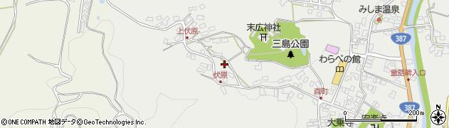大分県玖珠郡玖珠町森1542周辺の地図