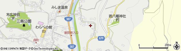 大分県玖珠郡玖珠町森2297周辺の地図
