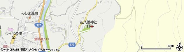 大分県玖珠郡玖珠町帆足1627周辺の地図