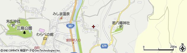 大分県玖珠郡玖珠町森2303周辺の地図