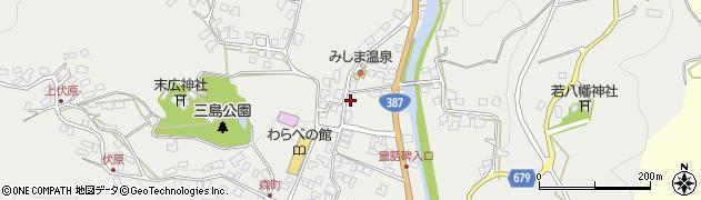 大分県玖珠郡玖珠町森802周辺の地図