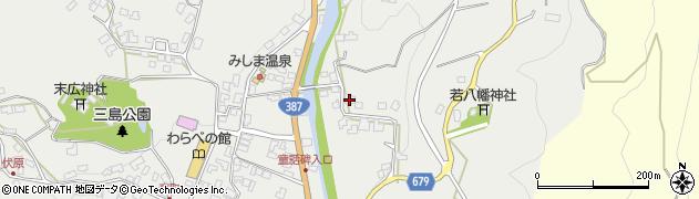大分県玖珠郡玖珠町森2307周辺の地図