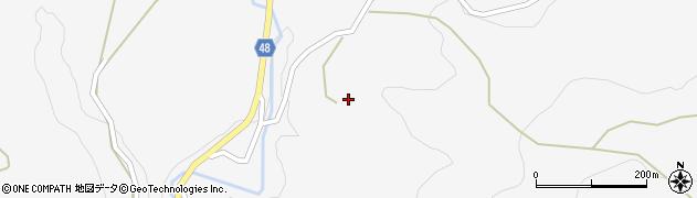 大分県玖珠郡玖珠町四日市1991周辺の地図