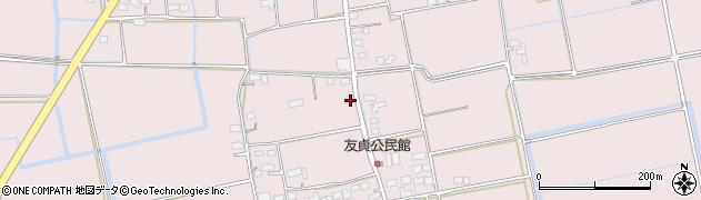 佐賀県佐賀市金立町(千布)周辺の地図