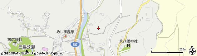 大分県玖珠郡玖珠町森久恵周辺の地図