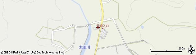 大分県玖珠郡玖珠町太田234周辺の地図