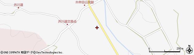 大分県玖珠郡玖珠町四日市2962周辺の地図