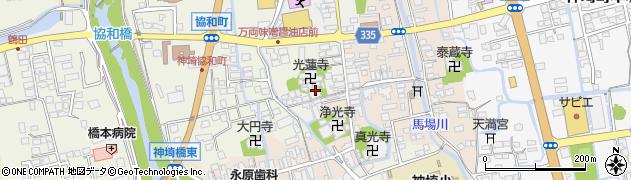明正寺周辺の地図