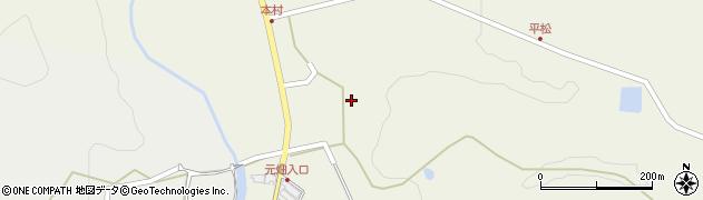 大分県玖珠郡玖珠町太田203周辺の地図