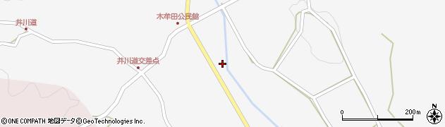 大分県玖珠郡玖珠町四日市2986周辺の地図