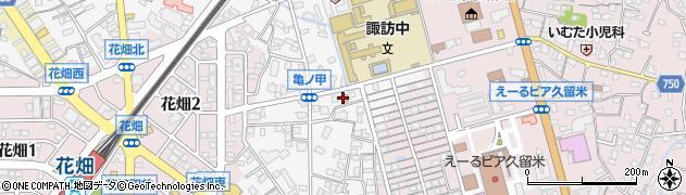 マナーハウス周辺の地図