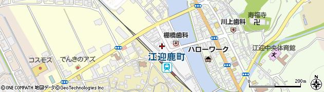 長崎県佐世保市鹿町町新深江周辺の地図