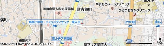 福蔵寺周辺の地図