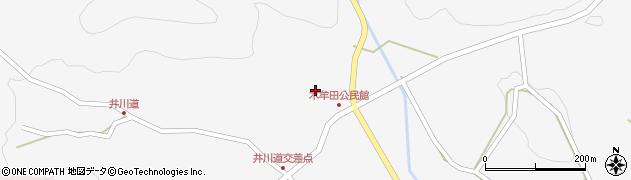大分県玖珠郡玖珠町四日市2975周辺の地図