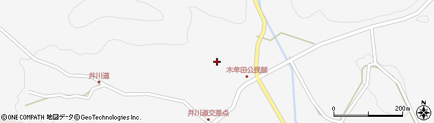 大分県玖珠郡玖珠町四日市2978周辺の地図