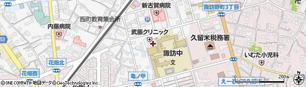 天神ファーマシー周辺の地図