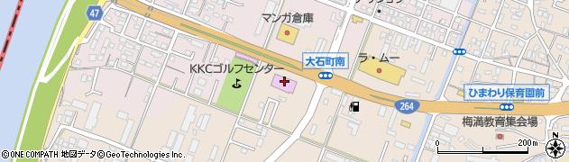 ダイナム福岡久留米店周辺の地図
