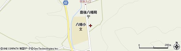 大分県玖珠郡玖珠町太田周辺の地図